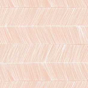 herringbone peach - rotated 90 degrees