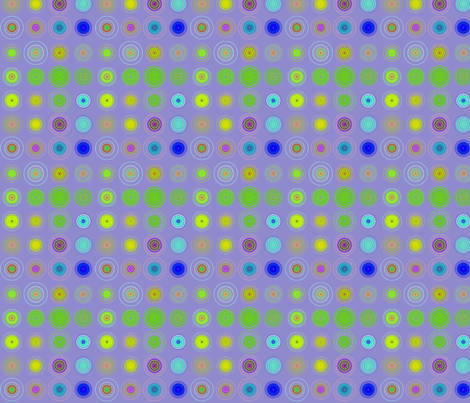 concentric lilac fabric by bbusbyarts on Spoonflower - custom fabric