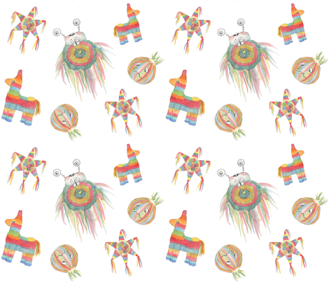 Pinata fabric by sugardream on Spoonflower - custom fabric
