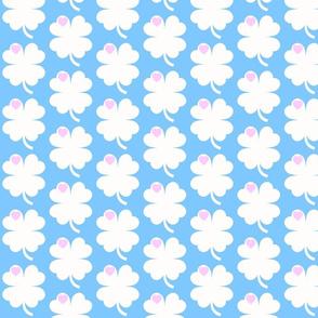 cloverleaf blue