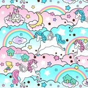 Rrrrspoonflower_clouds_and_pega_unicorns_shop_thumb