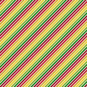 happy birthday thick stripes