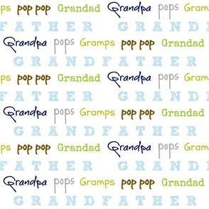 Grandfather  LARGE17- blue crush