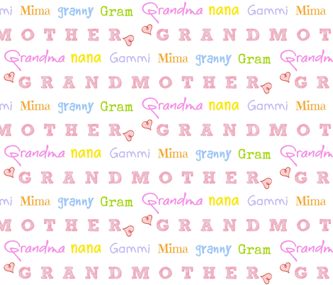 Grandmother LARGE 1731- candy crush hearts fabric by drapestudio on Spoonflower - custom fabric