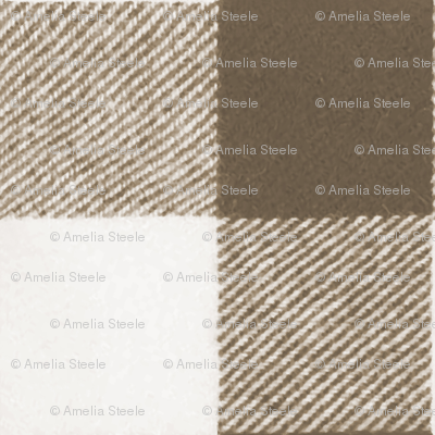 Wool Blanket in Chocolate