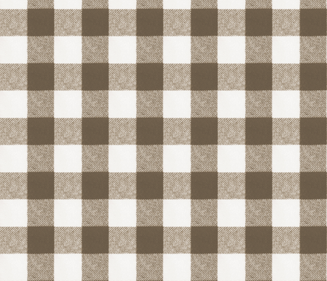 Wool Blanket in Chocolate fabric by willowlanetextiles on Spoonflower - custom fabric