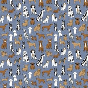 happy dogs // tiny version dog fabric dogs fabric nursery baby design
