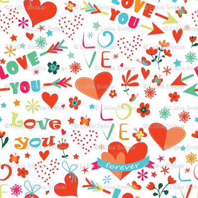 Colourful love