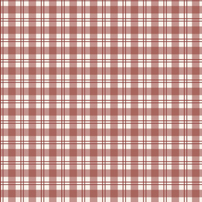Currant Red Plaid