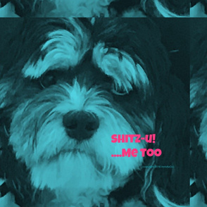 Shitz-U Me Too Aqua