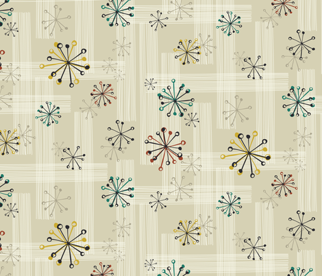 Tomfoolery in the trailer fabric by bippidiiboppidii on Spoonflower - custom fabric