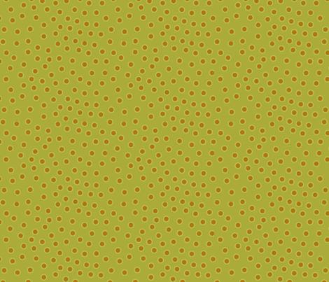 happy dots celery fabric by bbusbyarts on Spoonflower - custom fabric