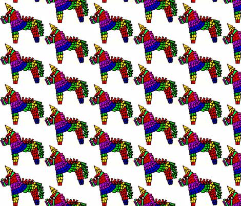 Pinata Parade fabric by dearetta on Spoonflower - custom fabric