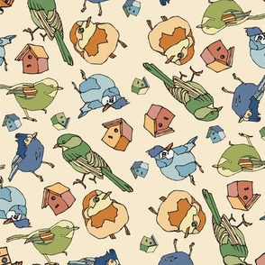 Birds & Houses