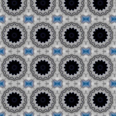 Invisible Madman: Black Dahlia - Sm fabric by ginascustomcreations on Spoonflower - custom fabric