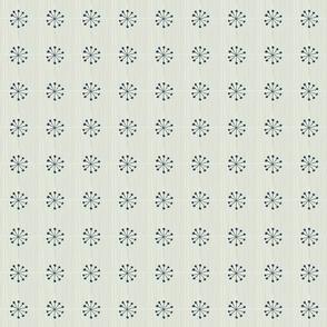 RETRO FLOWER PINS creme