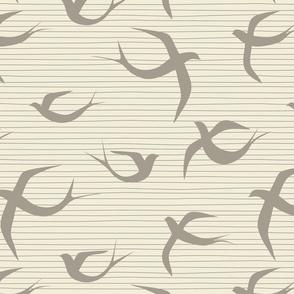 RETRO SWALLOW BEIGE