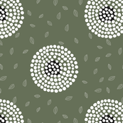RETRO FLOWERY GREEN 02