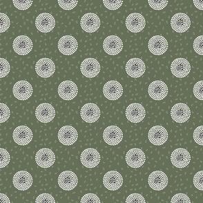 RETRO FLOWERY GREEN