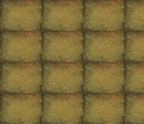 black_dotloop-ed fabric by bbusbyarts on Spoonflower - custom fabric