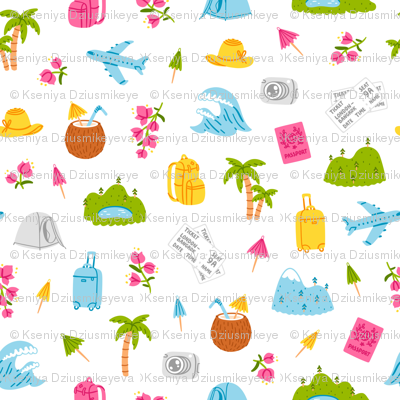 Go on and travel pattern