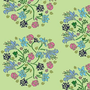 Danita's Stenciled Flowers