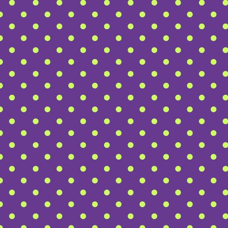 Purple polka dots fabric wallpaper gift wrap spoonflower polka dot lime green on purple voltagebd Image collections