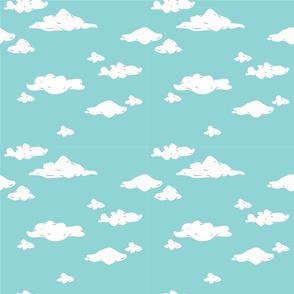 playfull clouds