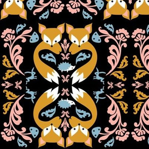 Ornate Fox Bright Colorway