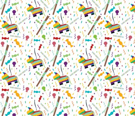 Piñatas fabric by svaeth on Spoonflower - custom fabric