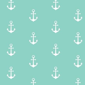 Anchors-Neptune/White-Small Scale