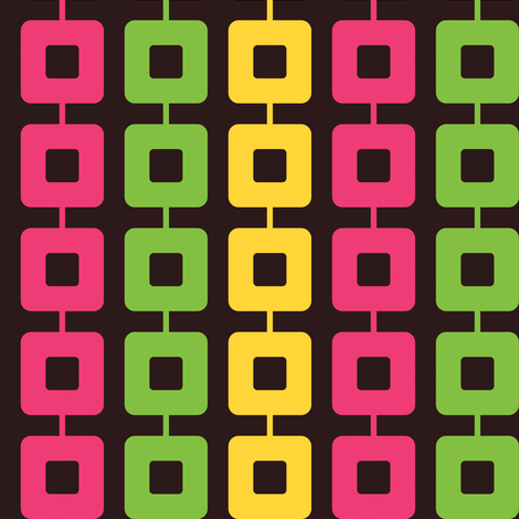 Neon Links fabric by anniecdesigns on Spoonflower - custom fabric