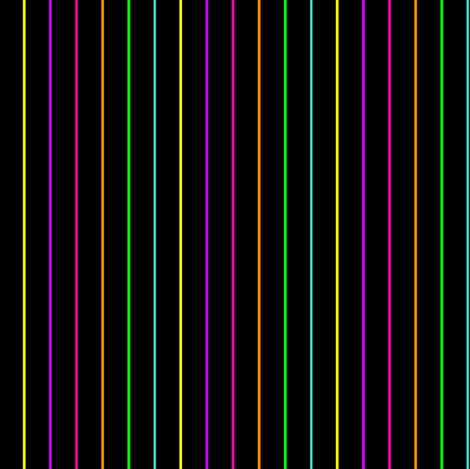 Neon Pinstripes Scaled fabric by essieofwho on Spoonflower - custom fabric