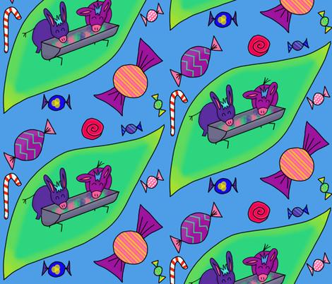 Piñata Party fabric by huggablehamster on Spoonflower - custom fabric