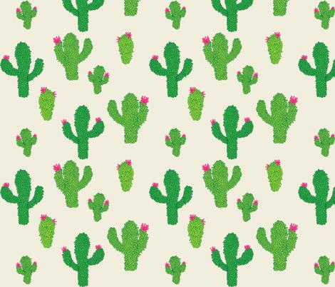 cactus pinatas fabric by eleventy-five on Spoonflower - custom fabric