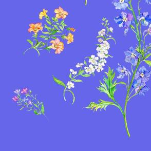 Summer Flowers-blue(large)