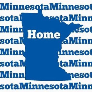 Home in Minnesota-Blue
