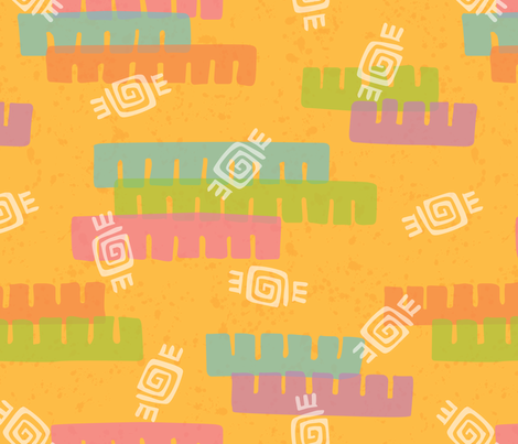 Fiesta! fabric by belindesigns on Spoonflower - custom fabric
