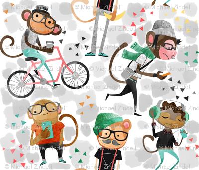 monkeys_watercolor2