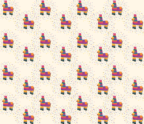 piñata party fabric by bishopart on Spoonflower - custom fabric