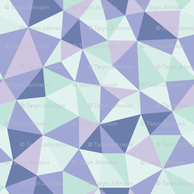 Origami Glacial