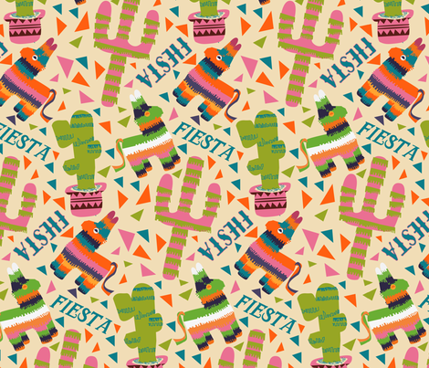 Fiesta Time! fabric by pixabo on Spoonflower - custom fabric