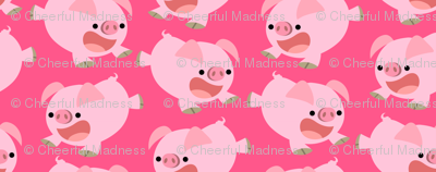 Loud Little Pigs by Cheerful Madness!!