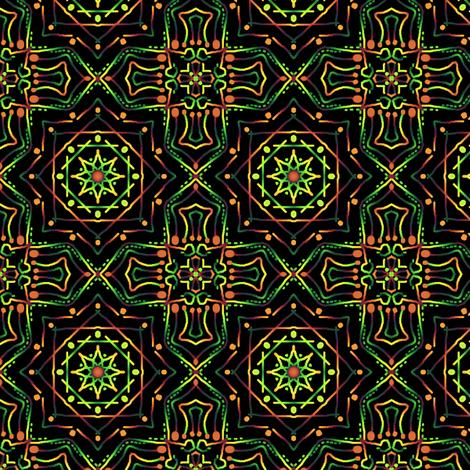 Meditate #2 fabric by tallulahdahling on Spoonflower - custom fabric
