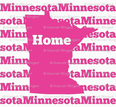 Home in Minnesota-Pink