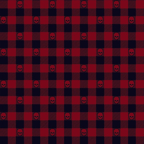 PsychoJack Pattern Red