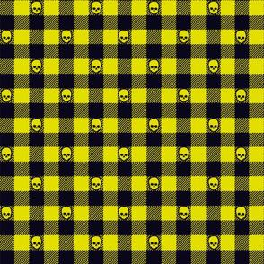Psycho Jack Pattern Yellow
