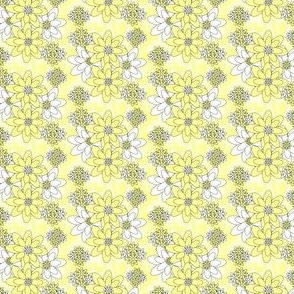 Isabella Angel Yellow Flowers Fabric #2