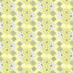 Isabella Angel Yellow Flowers Fabric #2