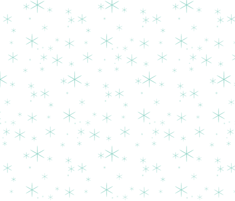 Sparkle Neptune/White fabric by sugarpinedesign on Spoonflower - custom fabric